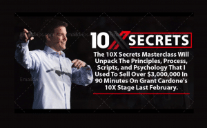 Clickfunnels - 10X Secrets Masterclass Video Sales Letter Funnel