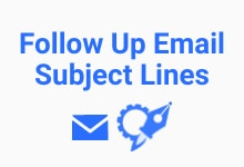 follow up email subject line generator