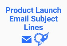product launch email subject line generator