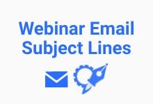 webinar email subject line generator